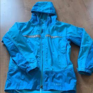 Kids LL Bean Fleece Lined Windbreaker/Raincoat
